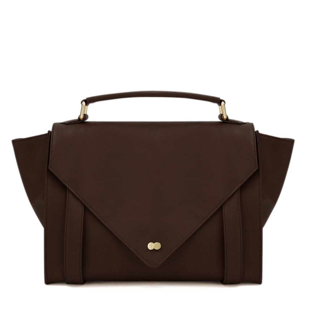 Satchel Bag Braun Leder Project OONA OLGA