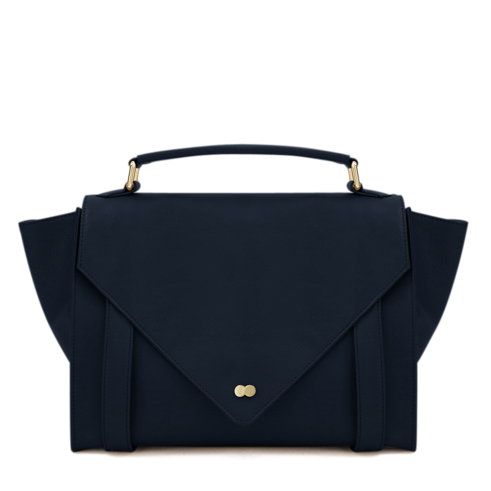 Satchel Bag Blau Leder Project OONA OLGA