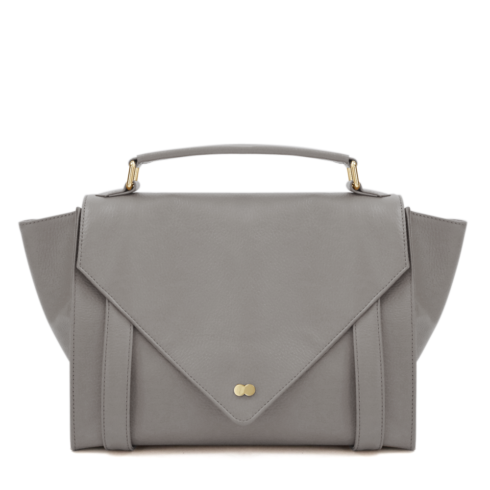 Satchel Bag Grau Leder Project OONA OLGA