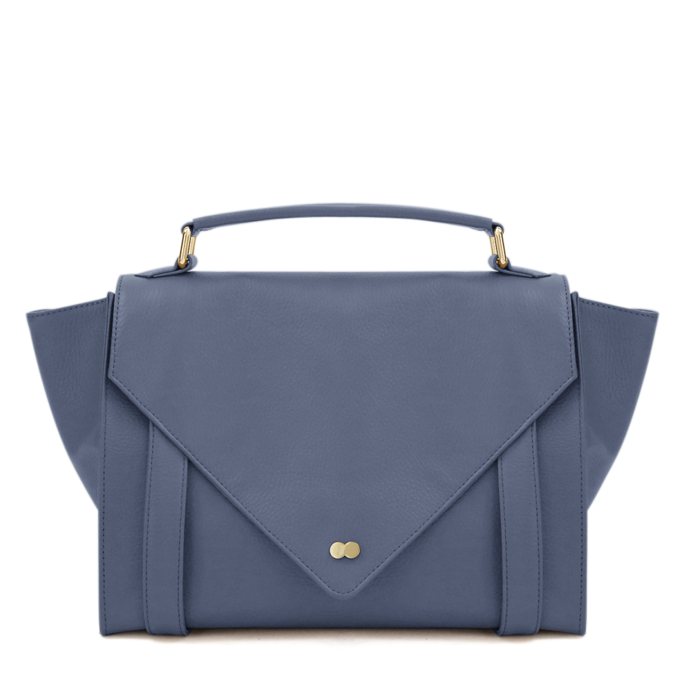 Satchel Bag Hellblau Leder Project OONA OLGA