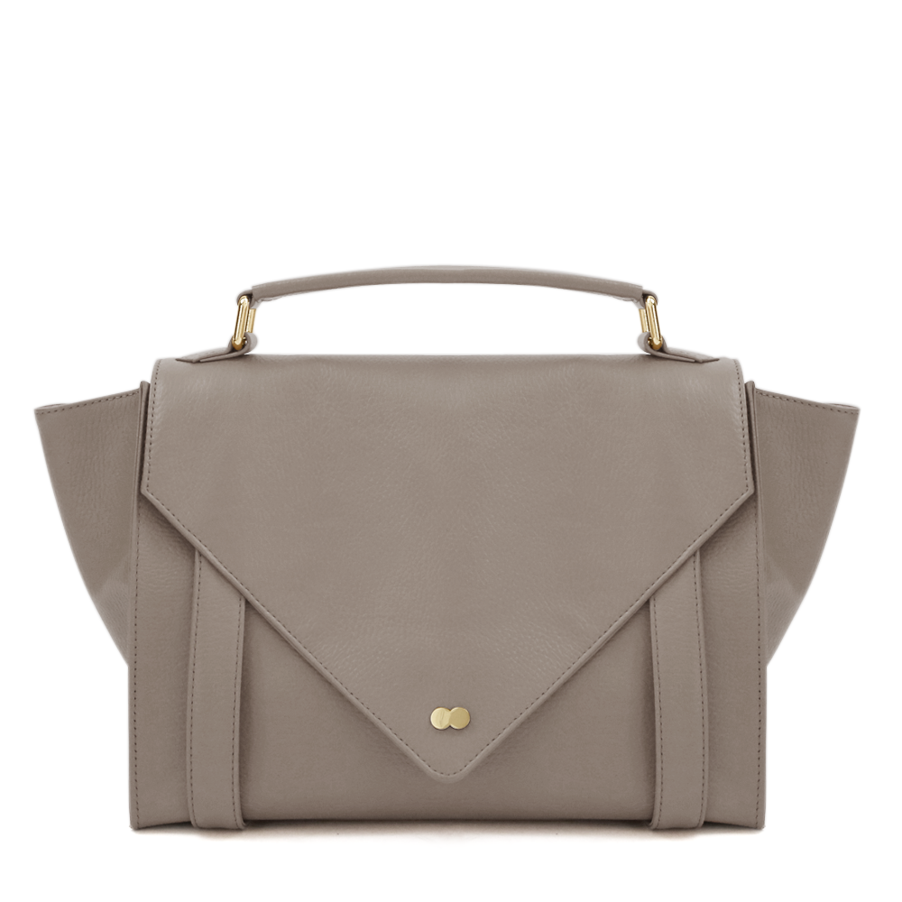 Satchel Bag Taupe Leder Project OONA OLGA