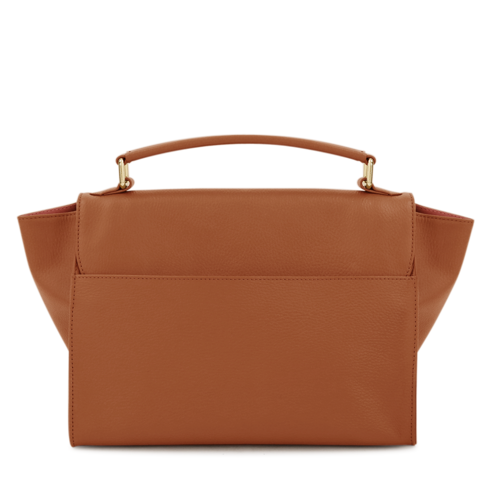 OLGA Satchel Bag Cognac Project OONA