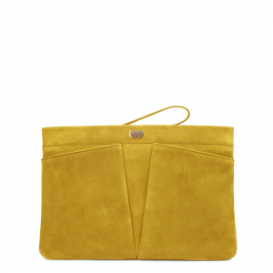 FLORENCE Clutch Bag Gelb Front