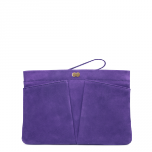 FLORENCE Clutch Bag Lila Front