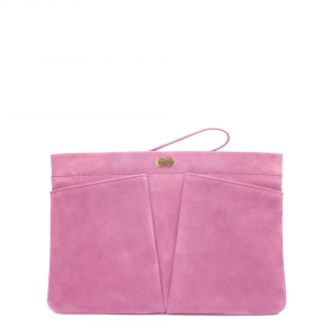 FLORENCE Clutch Bag Rosa Front