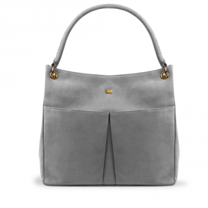 LUISE Shoulder Bag Grau Front