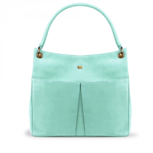 LUISE Shoulder Bag Mint Grün Front