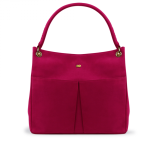 LUISE Shoulder Bag Pink Front