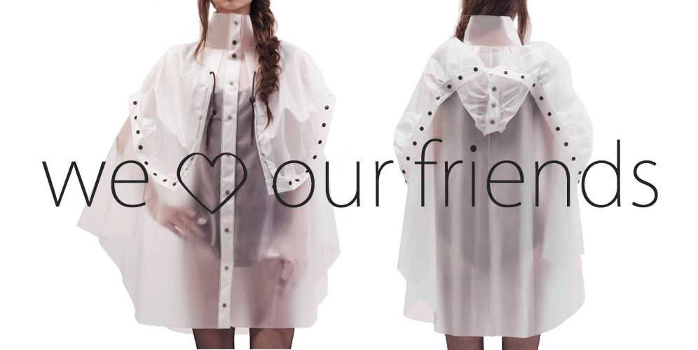 OONA and Friends terra new york raincoat trenchcoat oona projectoona berlin Regenjacke Jacke Mantel Regen Modisch