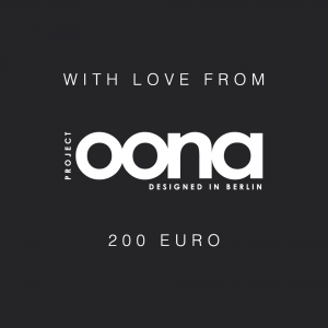 OONA Gift Card Black 200