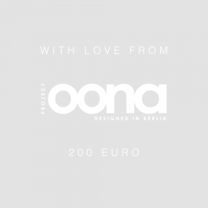 OONA Gift Card Grey 200