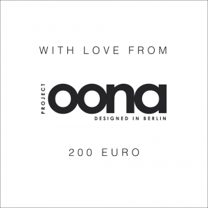 OONA Gift Card White 200