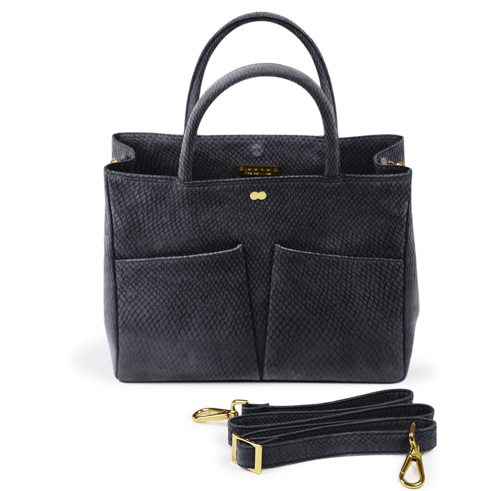 Luxus Business Tasche Bio Schwarz LETIZIA Project OONA