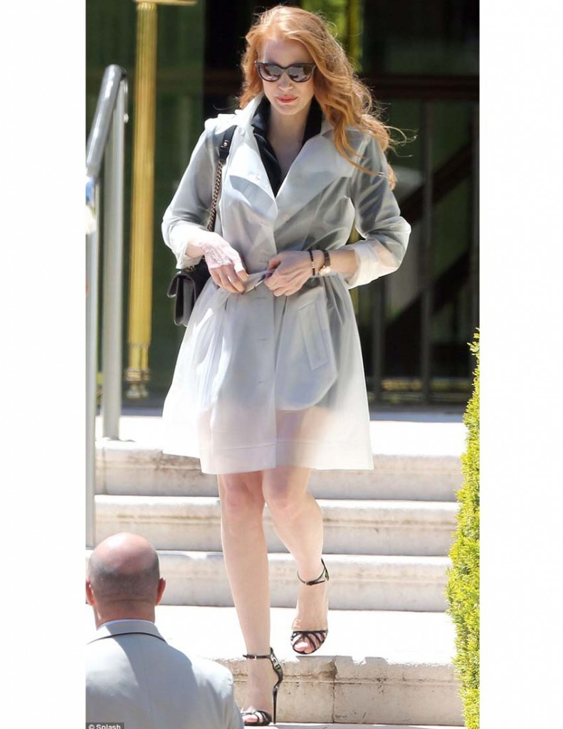 Jessica Chastain in Terra New York