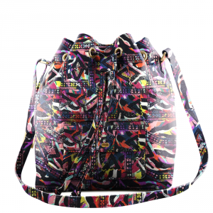 VICKY Bucket Bag Limited Edition Jamie O'Kay Project OONA Handtasche Mehrfarbig Ledertasche