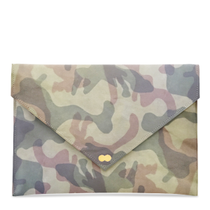 EMILIE Clutch Bag Limited Camouflage Jungle Green Handtasche Clutch Ledertasche Project OONA