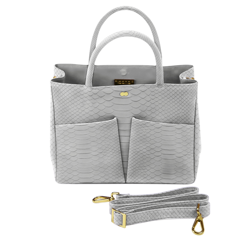 Business Tasche Python Grau LETIZIA Project OONA