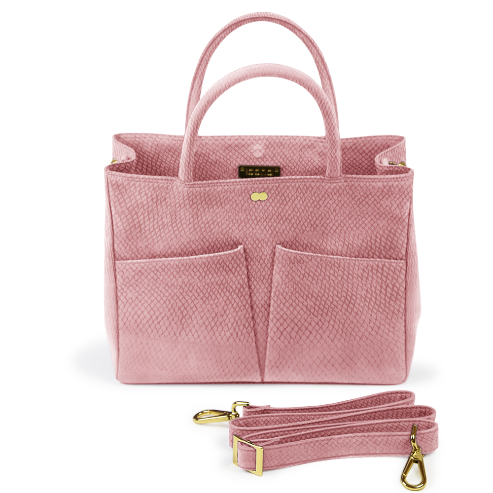 Luxus Business Tasche Bio Rosa LETIZIA Project OONA